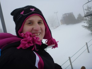 Rach on chairlift