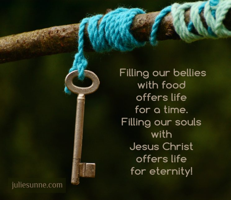 fill our souls with Jesus