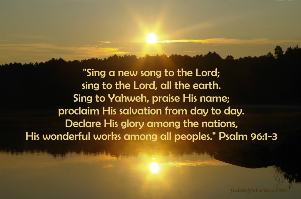 sing-a-new-song- life of faith