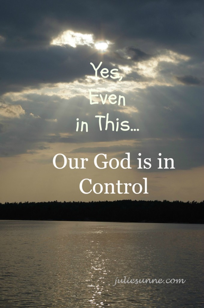 Our God is in Control