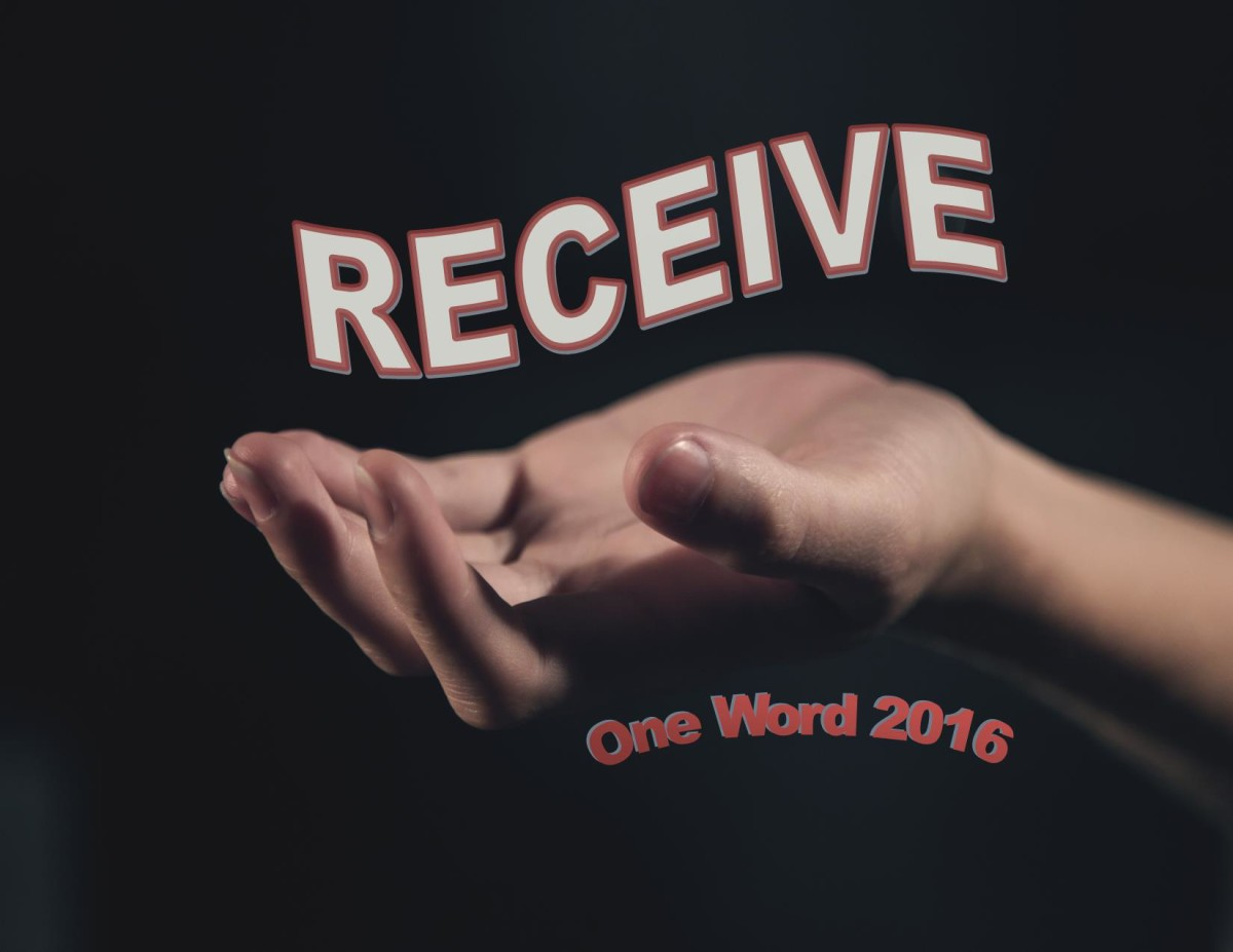 Receive - One Word 2016