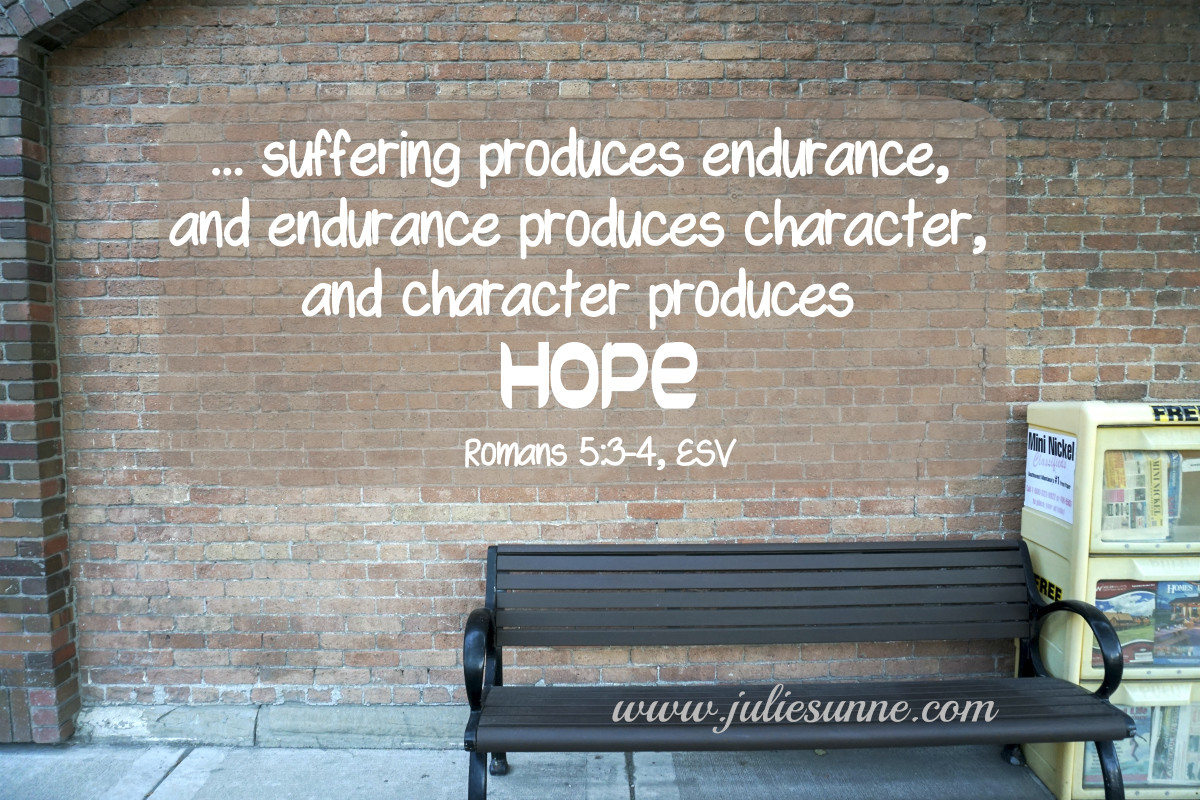 suffering in your life story brings about hope