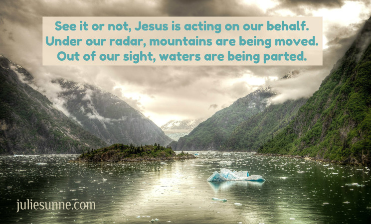 desperate because we can not see Jesus moving