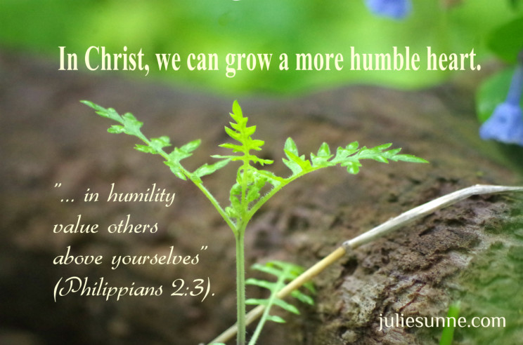 selfish to humble in Christ