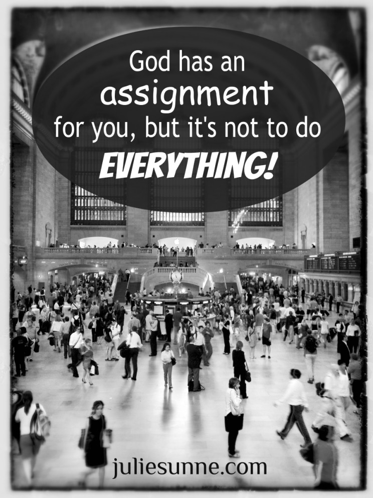 assignment not everything