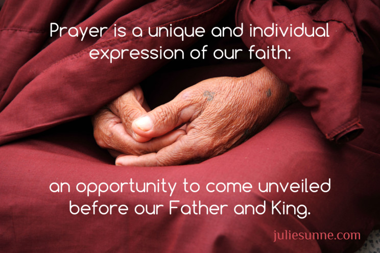 prayer when you feel ill-equipped