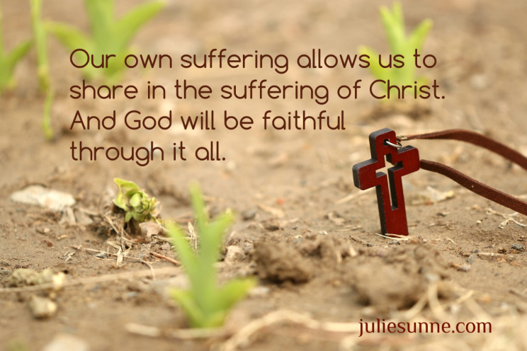 share in suffering