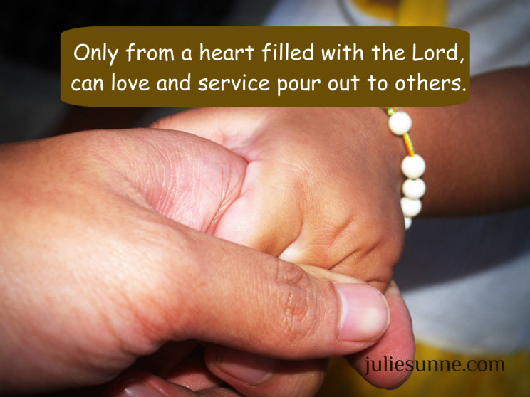 serving and loving
