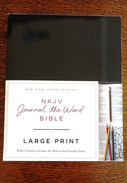 Journal the Word Bible, large print