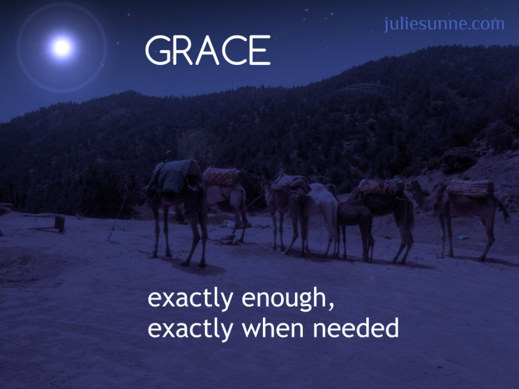 grace, enough for overwhelming situations