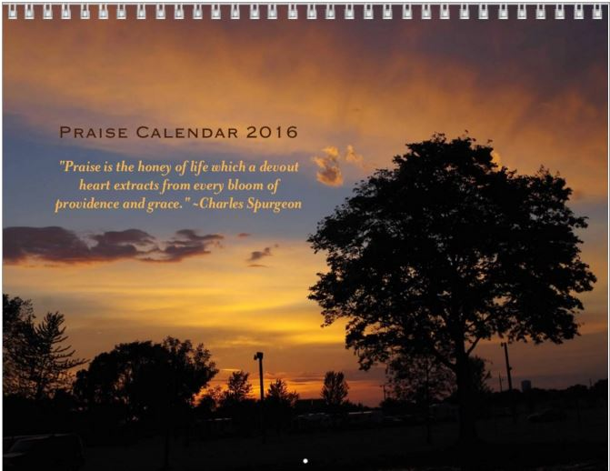 2016 Praise Calendar Giveaway! (just in time for gift giving and the ...